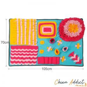 tapis de fouille dimensions 70x105cm