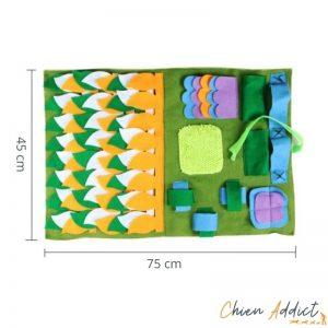 tapis de fouille Jungle 45*75cm