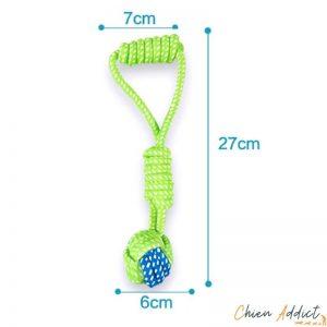 jouet corde pour toutou